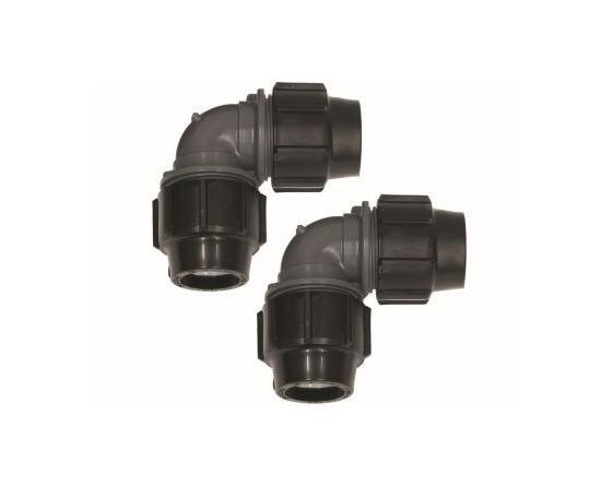 Vaillant Winkelkupplung 90 Grad 40x3,7mm zur Umlenkung PE-Rohr für geoTHERM VWL-S
