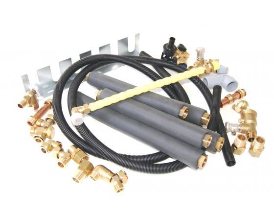 Vaillant Anschlusskonsole Kompaktgeräte f. flexiblen Anschluss nach oben/unten