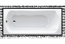 Polypex Objekt 1700 Badewanne 170/75/43cm weiß 14421