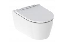 Geberit-Keramag Geberit One Set Tiefspüler mit WC-Sitz weiß-alpin, TurboFlush 500201011