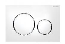Geberit Sigma 20 2-M Betätigungsplatte weiß/glanz/weiß 115882KJ1