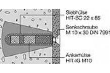 Hewi Befestigung für für Stützgriffe, Spritzschutz BM11.2