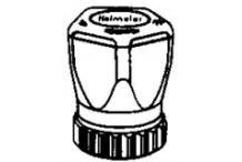 Imi Hydronics Heimeier Handregulierkappe mit Rändelmutter 200100.325