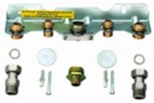 Junkers Montage-Anschlussplatte Nr.415 7719000715