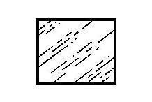 KIEDL Floatglasspiegel 45x60 cm 4 mm geschliff  MG6045