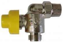 """Vaillant SD Gasanschlusshahn Eckform 1/2"""" AG - 1/2"""" AG 0020152157"""
