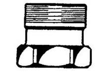 "WRANN Pumpen-Rückschlagventil Type SBM DN1"" 6/4"" IG/AG 20950"