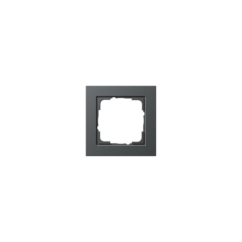 Rahmen 1fach E2 anthrazit 021123