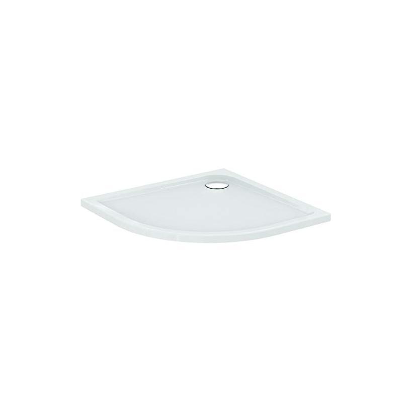 Ideal-Standard/Comfort Id.St. Passion Acryl Rundbrausetasse 90x90x4,5cm, weiß ohne Füße E105101