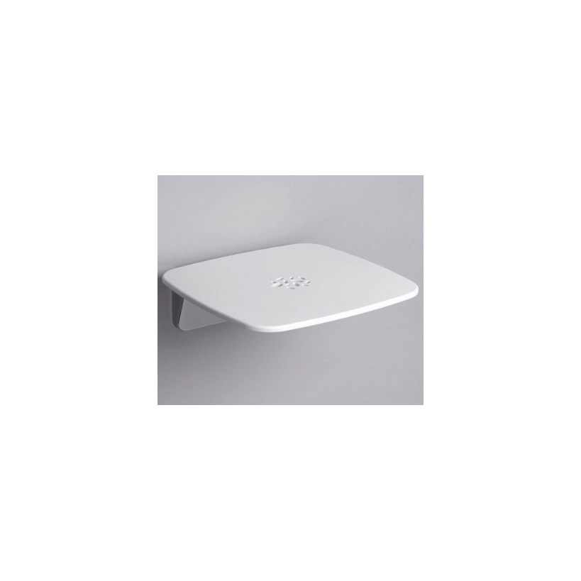 Alva aqua Alva Aqua Varia Badehocker mit ABS Sitzfläche, bis 160kg, Weiß/Chrom 3001SH69PM