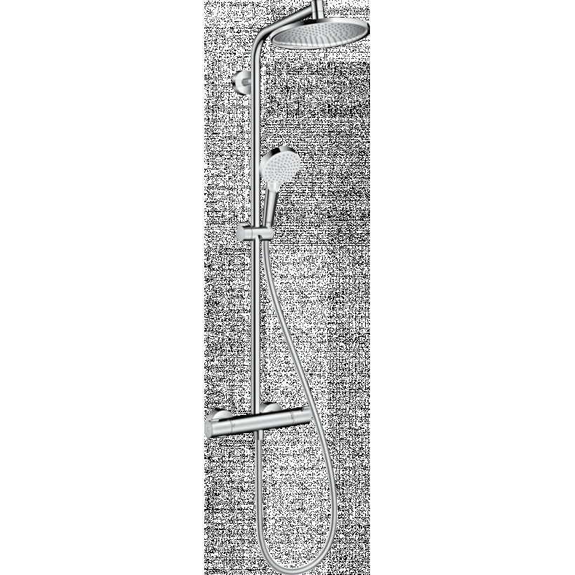Hansgrohe Showerpipe Crometta S 240 chrom 27267000