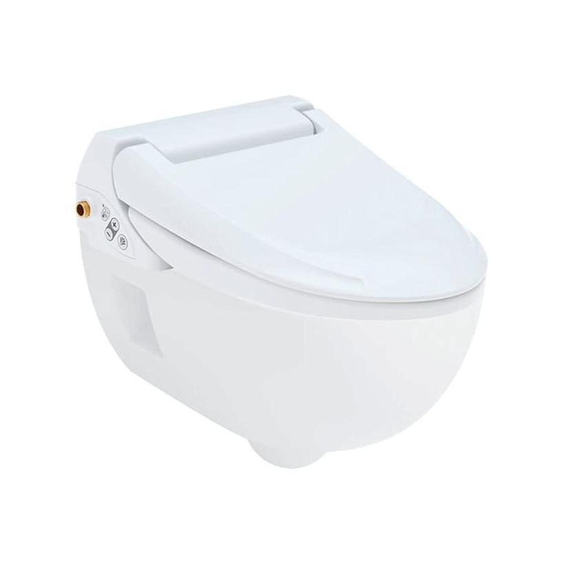 Geberit GE Set AqC4000 mit WC-Keramik Tiefspüler, wandhängend, weiss 146135 146135111