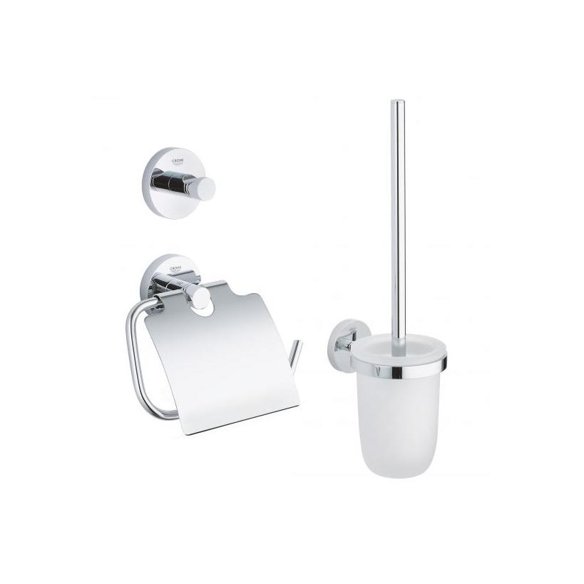 Grohe WC-Set 3 in 1 Essentials 40407 chrom EC40407001