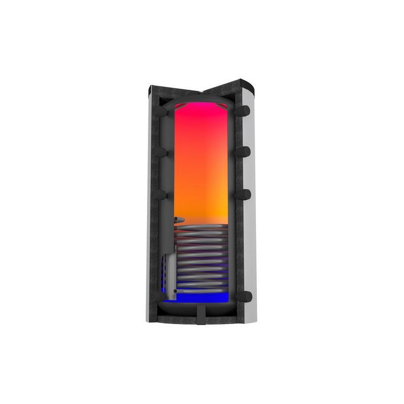 Citrin Solar-Puffersp. PSW-R 1000-1/79 inkl. Faservlies Iso+ 120 mm, montiert 332027