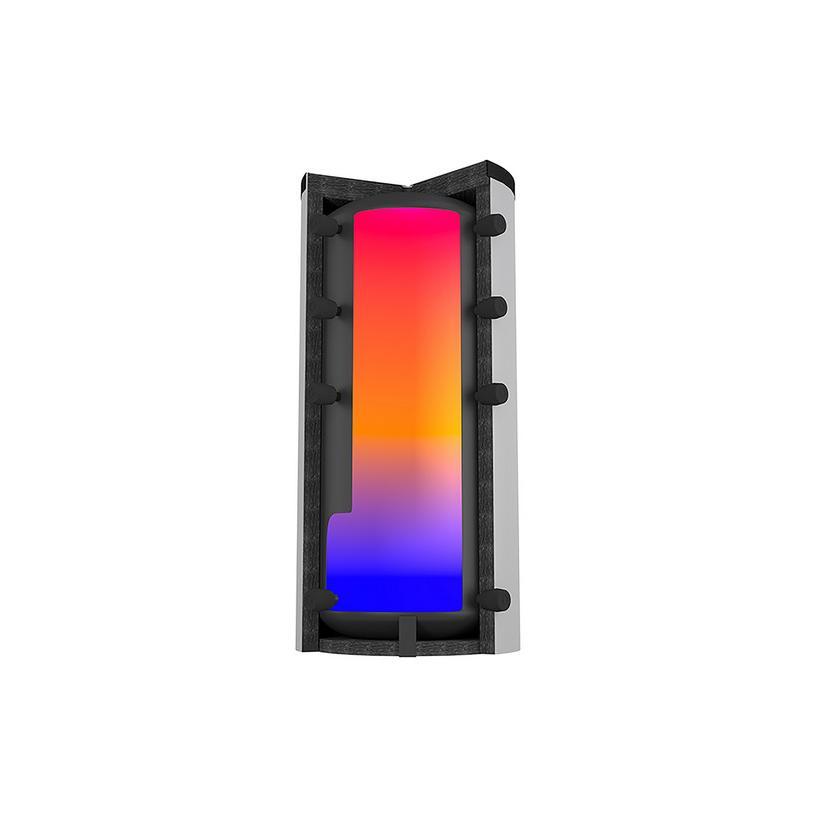 Citrin Solar Citrin Pufferspeicher PS 1000/79 inkl. Faservlies Iso+ 120 mm, montiert 352027