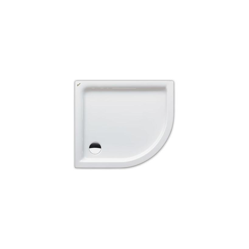 Polypex Lagune 90x80 li Duschwanne 90/80/6cm weiß 38221