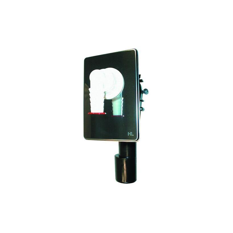 Hutterer&Lechner HL400 WG-UP-Sifon DN40/50 - 160x110mm  400