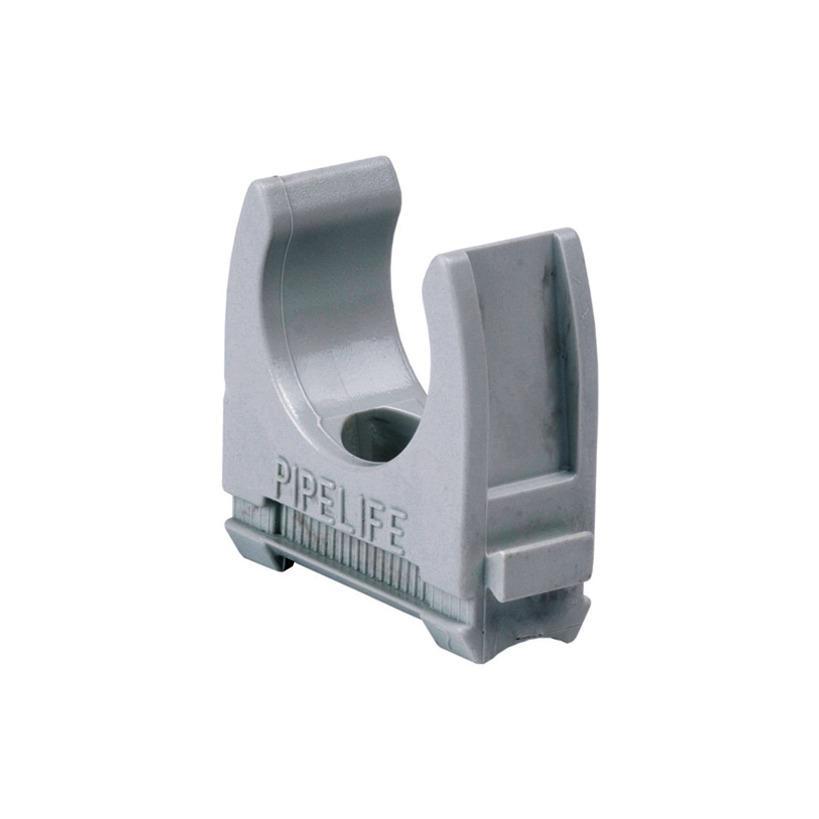 Klemmschelle für Installationsrohre Ø25mm hellgrau TKSL 25 HGR 100 Stück