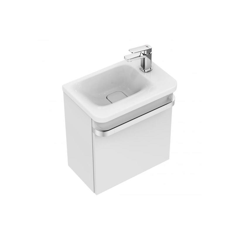 Ideal-Standard/Comfort Id.St. Tonic II WT-Unterschrank, 1 Tür 450x260x480mm,Hgl.weiß lackiert R4306WG