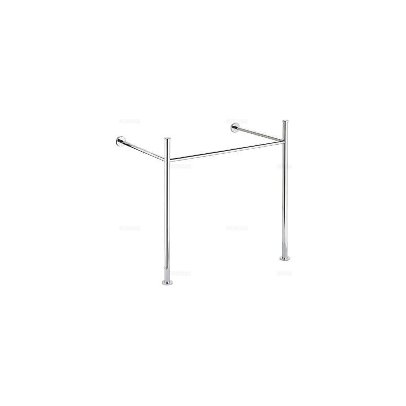 Duravit Vero Metallkonsole chrom für Möbelwaschtisch 032985 0030711000