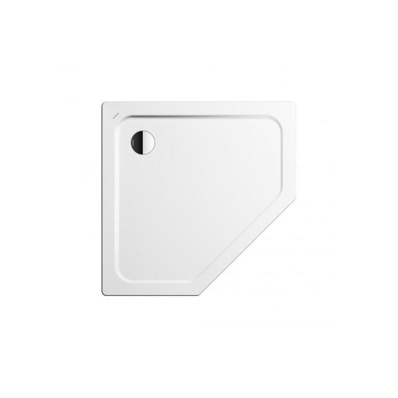 Kaldewei Cornezza-Duschw.673-2 100x100x6.5cm inkl.Traeger weiss 459348040001