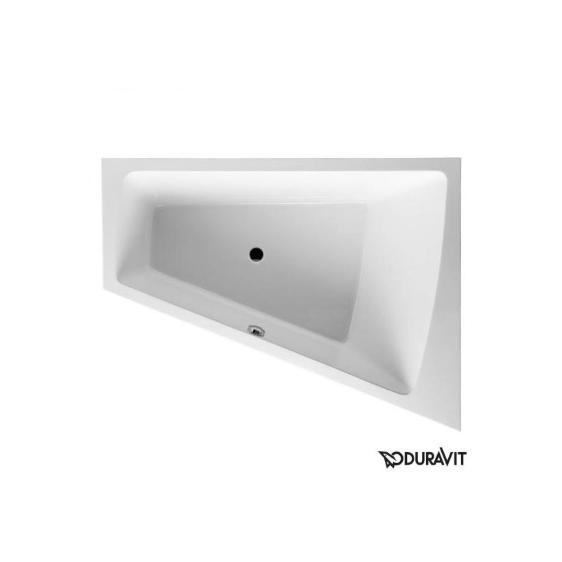 Eck-Badewanne Paiova Weiß 1700x1300 mm DUR700215000000000