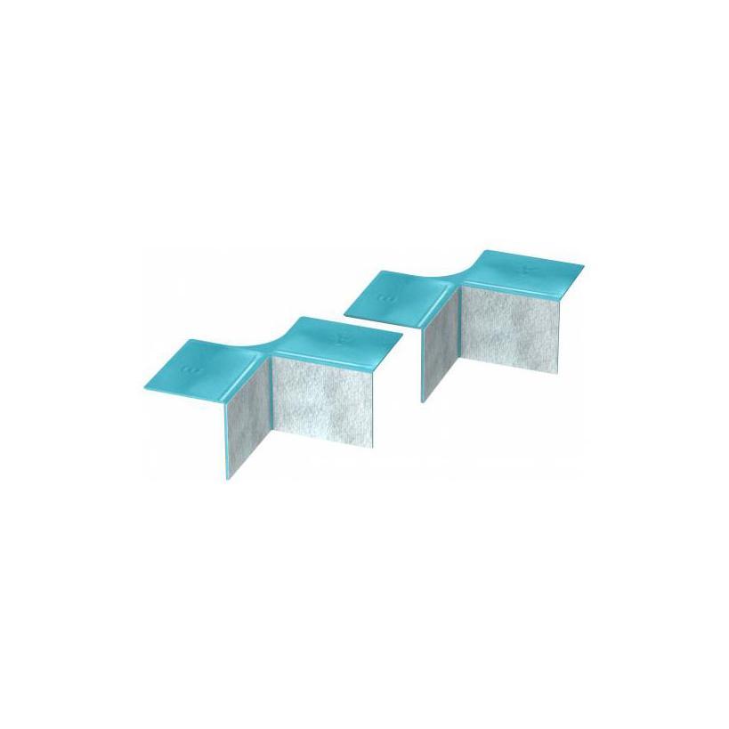 Mepa-Pauli und Menden Mepa Aquaproof 3D T-Ecke Erweiterungs-Set 180049