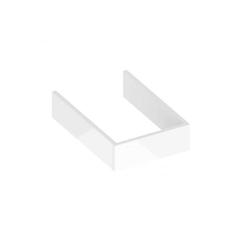 Keuco KE Sockelpaket Edition 90 39049, weiß Hochglanz 39049210000