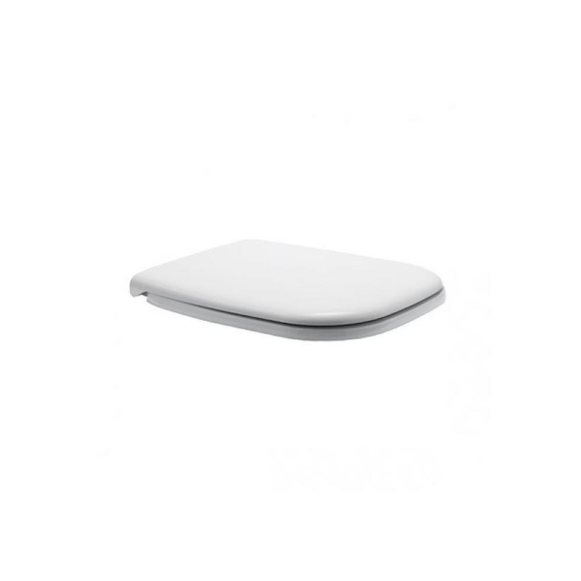 Duravit WC-Sitz D-Code, Weiß mit Absenka., Scharnier KST 0067390000