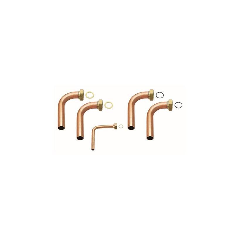 Vaillant VAILLANT Installations-Set 90° für flexo COMPACT für Inneneinheit 0020212718