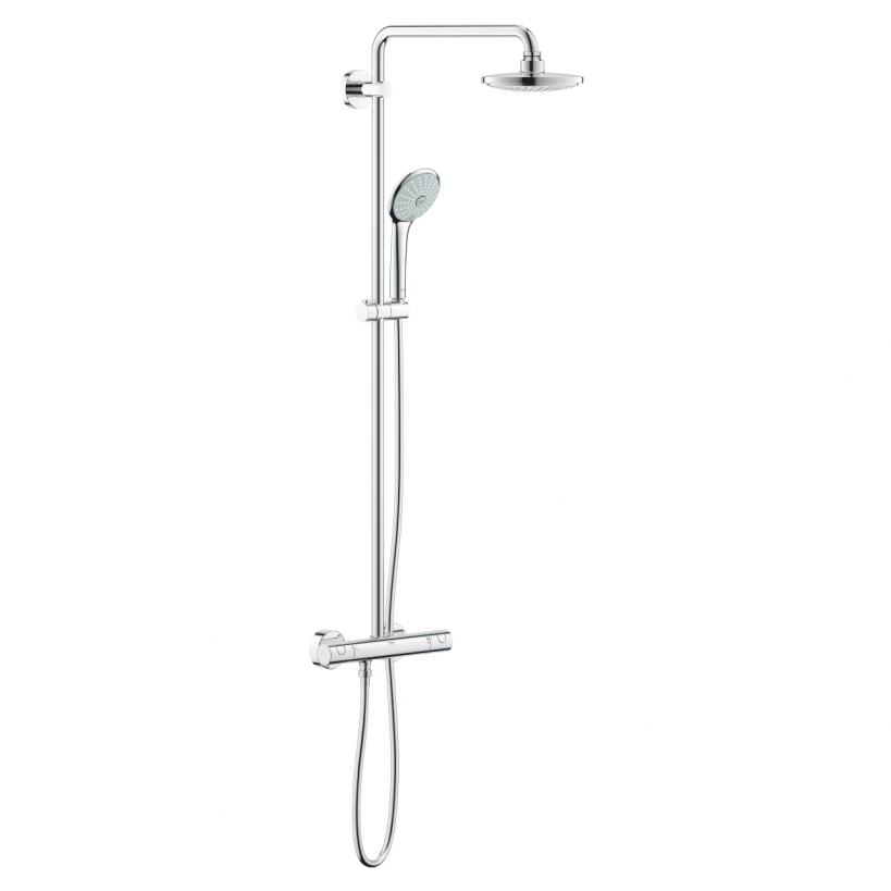 Grohe Euphoria Duschsystem AP-Thermostat 450mm Duscharm chrom 27296001