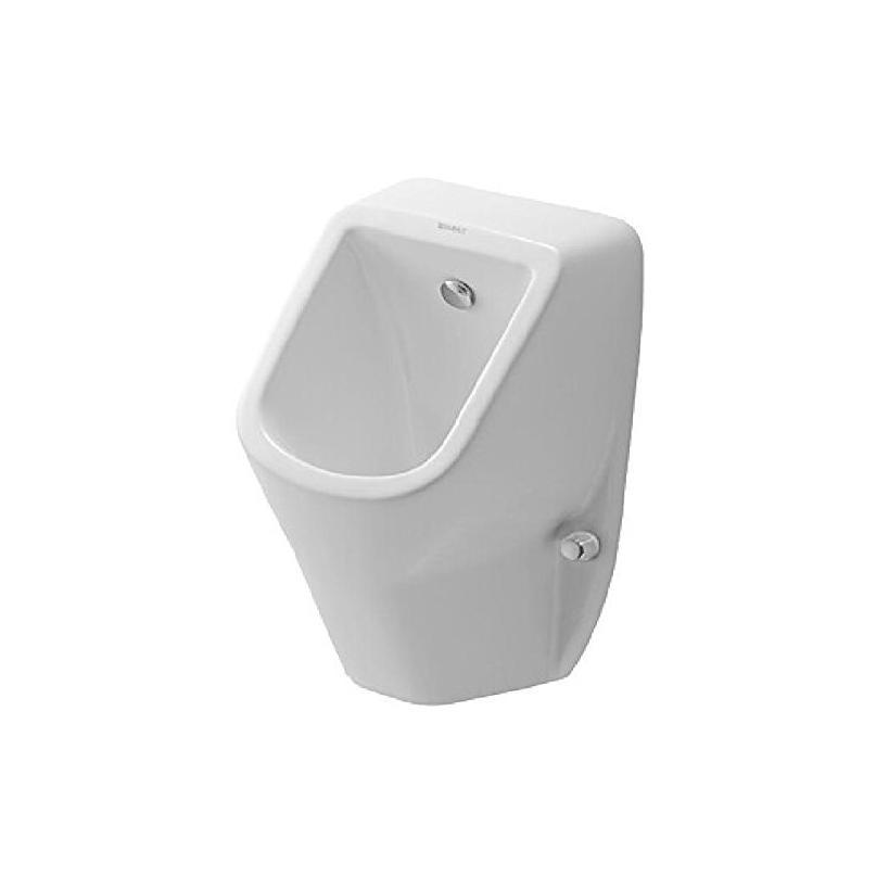 Duravit Urinal D-Code mit Spüldüse Weiß Zulauf von hinten 0829300000