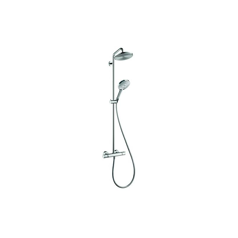 Hansgrohe HG Showerpipe Raindance Select chrom mit Kopfbrause Raindance Air 1jet 240mm 27115000