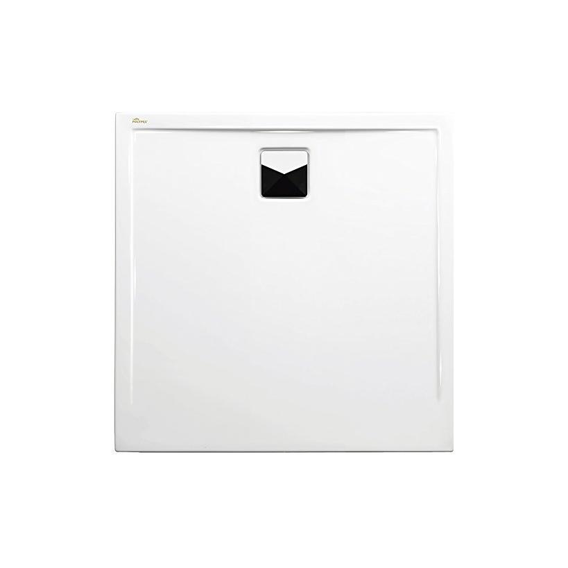 Polypex Plano 90 Duschwanne 90/90/2cm weiß 49221