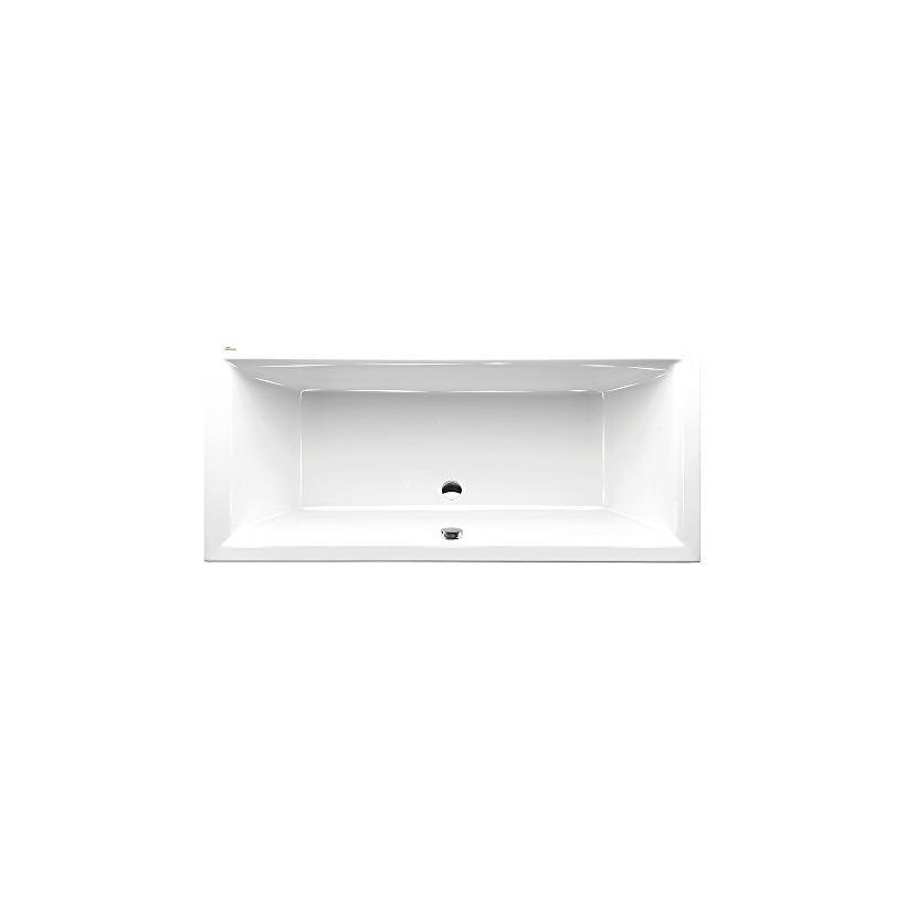 Polypex Siena 1800 Badewanne 180/80/44cm weiß 14621
