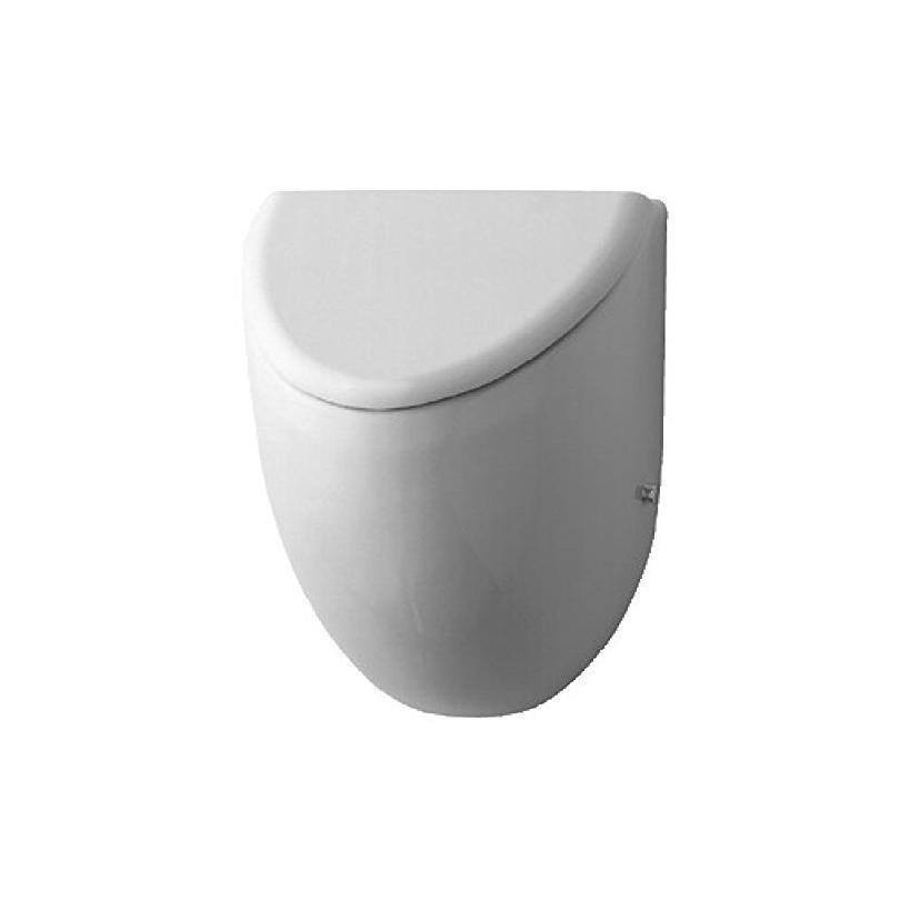 Duravit Urinal Fizz, Zulauf von hinten absaugend, für Deckel, weiß 0823350000
