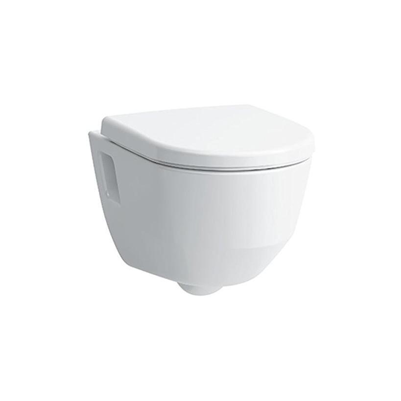 Laufen Wand Tiefspül WC PRO ohne Spülrand, mit offener Befestigung 8209640000001