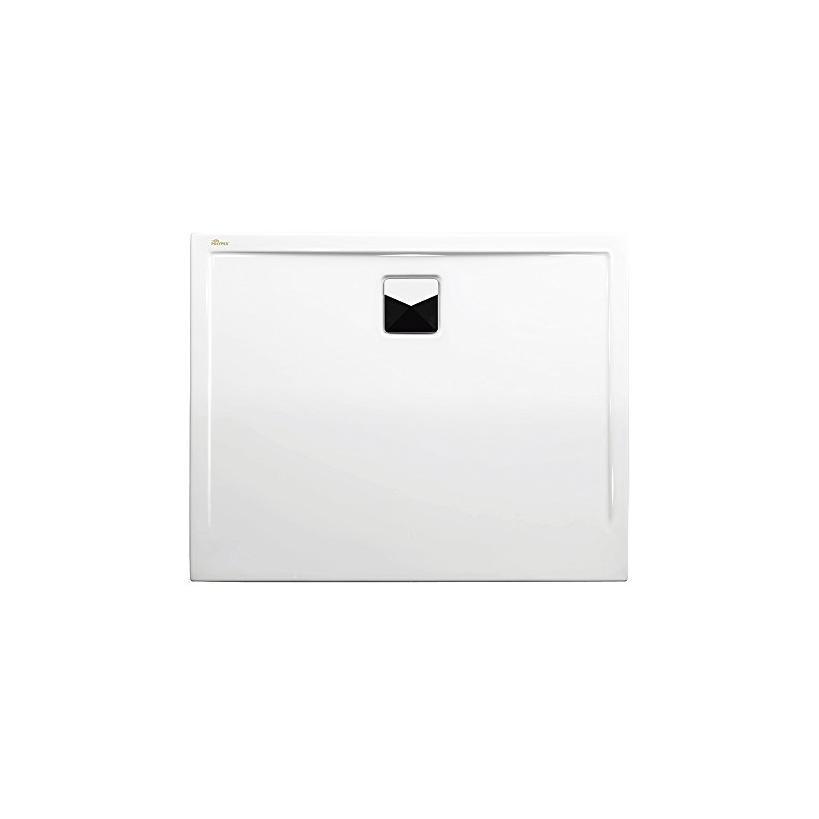 Polypex Plano 80 Duschwanne 100/80/2cm weiß 47521