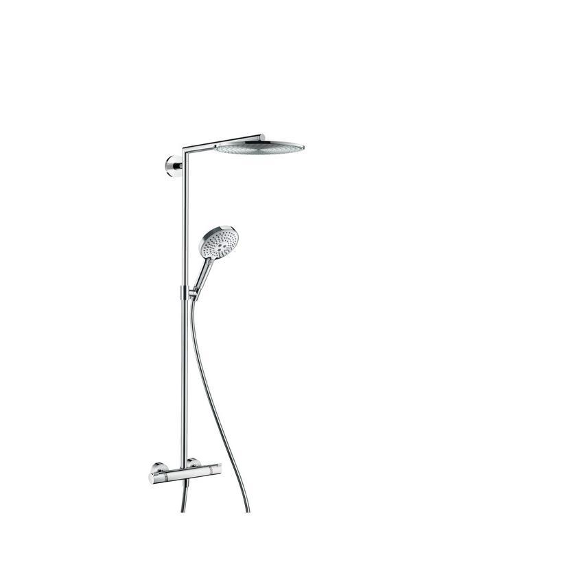 Hansgrohe HG Showerpipe Raindance Select chrom mit Kopfbrause Raindance Air 1jet 300mm 27114000