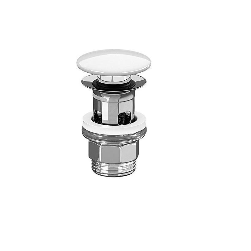 Villeroy & Boch V&B Push-Open Ventil Zubehör Ventilabdeckung aus Keramik weiß 8L033401