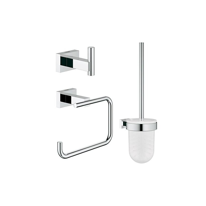 Grohe WC-Set 3in1 Essentials Cube 40757 chrom EC40757001