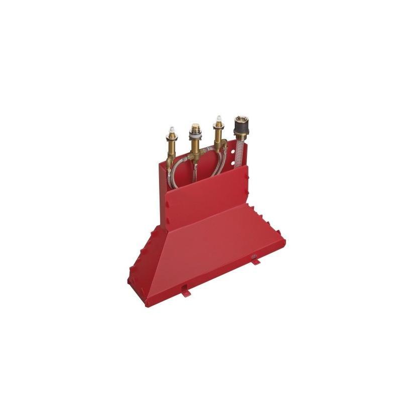Hansgrohe HG Grundkörper 4-Loch Wannenarmatur Axor für Wannenrandmontage mit Secuflexbox 15480180