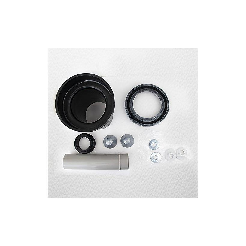 Geberit Wand-WC-Anschlussgarnitur 90mm mit Dichtung für Wand-WC-Muffe 152426461