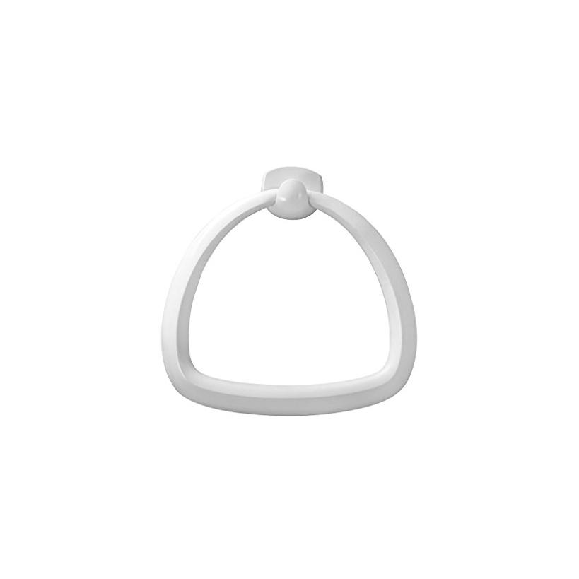 Bisk Athena Handtuchring Kunststoff, weiß 28852