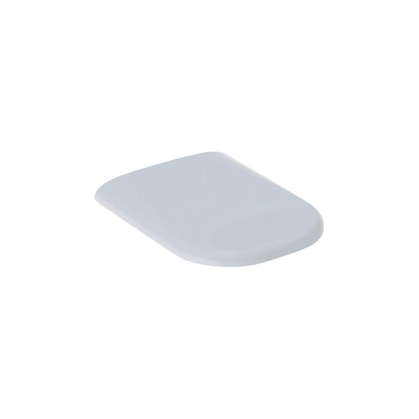 Geberit-Keramag Geberit Smyle WC-Sitz m Absenkautomatik weiß, Wrap Over überlappend 500.237.01.1