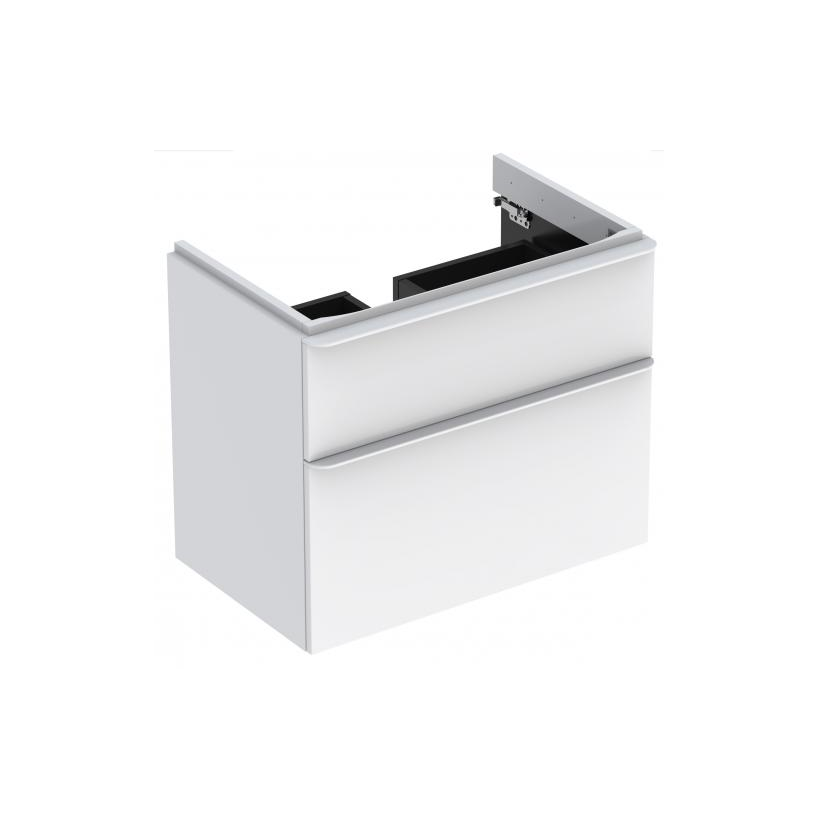 Geberit-Keramag GE Smyle Square US-f-1-WT B75 2-Sbl 734x617x470mm, weiß 500353001