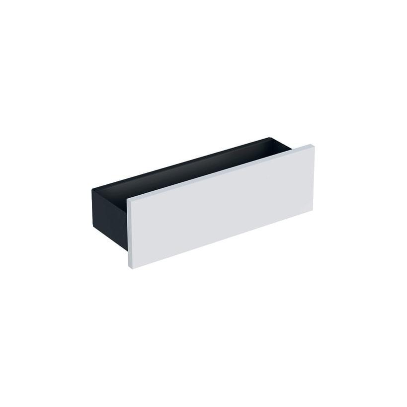 Geberit Smyle Square Wandablage B45 offen 450x148x143mm, weiß 500362001