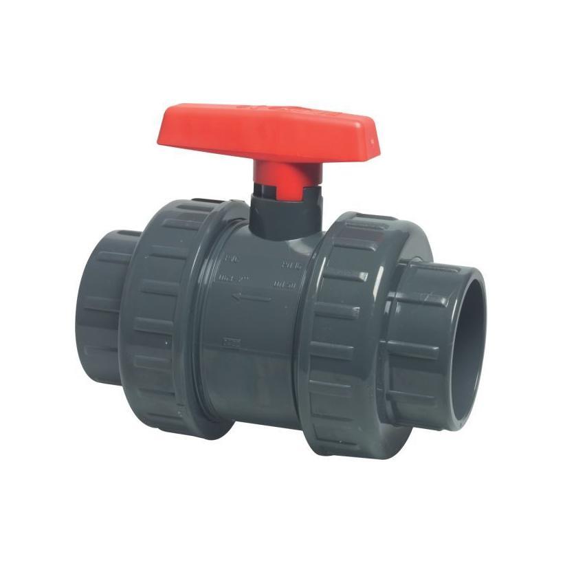 GF Rohr vormals JRG GF161546064 PVC-U Kugelhahn d 32 EPDM d32DN25 161546064