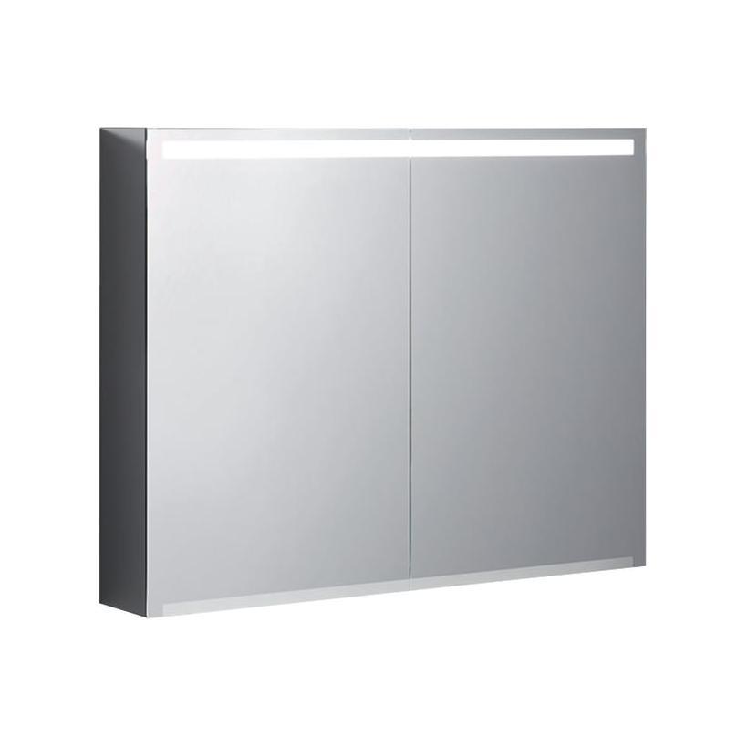 Geberit Option Spiegelschrank 900x700x150mm, Korpus Dunkelgrau 500583001