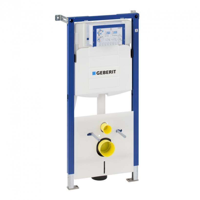 Geberit GE Duofix Montageelement f WC Betätigung von vorne BH 112cm 111311 111311005
